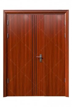 Cửa thép vân gỗ KG-21.08.01