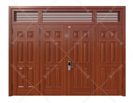 Cửa thép vân gỗ KG-42.04.04-3NC
